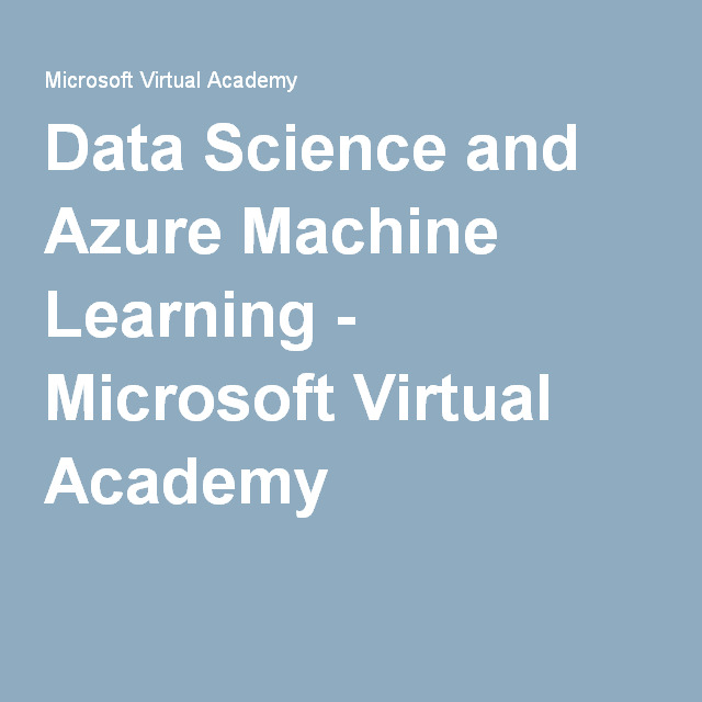 Data Science and Machine Learning Essentials