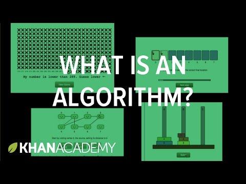 What is an algorithm and why should you care?